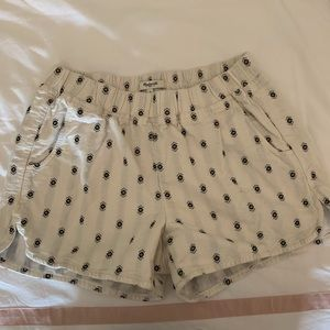 MADEWELL WHITE SHORTS